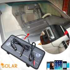 8.5W 12V Solar Power Panel Trickle Battery Charger Car SUV Truck Boat Caravan