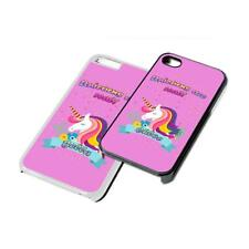 Unicorn name Personalised custom Phone Cover for iPhone Samsung 4 5 6 7 6th case