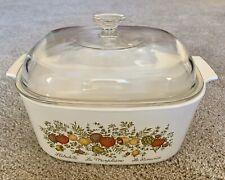 Vintage Corning Ware Spice of Life A 5 B L'Echalote La Marjolaine Rare 5 Quart