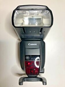Canon Speedlite 600EX-RT Shoe Mount Flash for  Canon - W/ original box/manual