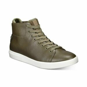 Kingside Men High Top Fashion Sneakers William Lace Up Synthetic