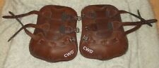 new cwd leather tendon boots