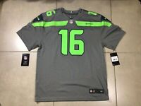 YOUTH NFL Seattle Seahawks Nike On Field Grey Jersey Tyler LOCKET #16 Size XL