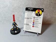 Cyclops - 052 Marvel X-Men Xavier's School HeroClix Miniature Super Rare