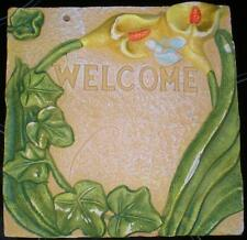 Latex Craft Moulds For Welcome Garden Wall Plaque Art & Crafts Hobby