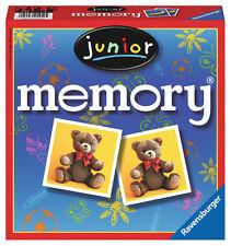 72 Karten Ravensburger Kinderspiel Legekartenspiel Junior memory 21452