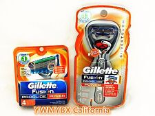 Gillette Fusion Proglide Power,5 Catridges, Brand New 100%AUTHENTIC, #G002W
