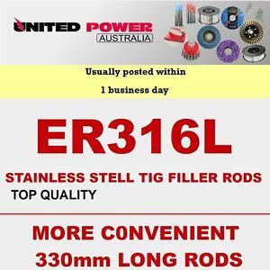 5kg 1.0mm  330mm LONG ER316L STAINLESS STEEL TIG FILLER RODS ****TOP QUALITY****