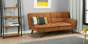 New Memory Foam Futon Sofa Bed Couch Sleeper Convertible Foldable Loveseat