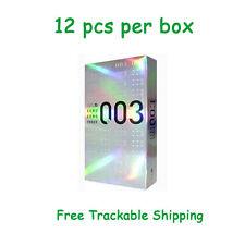 2 Pcs Okamoto Zero Three 003 Platinum Condoms Ultra Thin 0.03mm From Japan