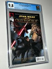 Star Wars The Old Republic #4 CGC 9.8 No Polybag Sleeve