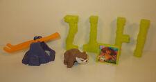 "2013 Bear Owl & Eep 2"" McDonald's Movie Action Figure Set #3 The Croods"