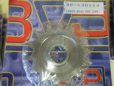 BVP FRONT SPROCKET - 14 TEETH  - HONDA  CR125 1986 + (1987-2000 BUT NO SPACER)