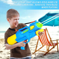 Kids Water Guns Super Soaker w/ Shoulder Strap Blaster Squirt Swimming Pool Toy