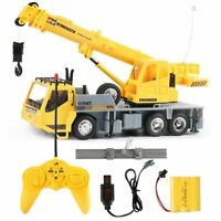1:26 RC Truck Crane Remote Control Hoist Heavy Duty RC Truck Construction Model