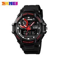 SKMEI Men's Digital Sports Wristwatch 50m Waterproof 3 Time Quartz Watch 1357 7