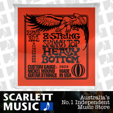 Ernie Ball 2624 8-String Slinky Top Heavy Bottom Electric Guitar Strings 9 - 80