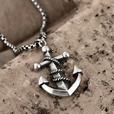 Fathers Day  Alloy Leather Pendant Necklace Wing Cross Tooth Feather Rings