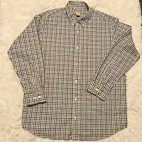 Duluth Trading Co Men's L Tall Long Sleeve Button Down Shirt