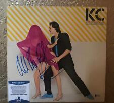 KC & THE SUNSHINE BAND  SIGNED BY KC  ALBUM VINYL RECORD BECKETT C76576