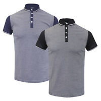 Mens Brave Soul 'Alias' Cotton Short Sleeve Polo Shirt NEW SS17