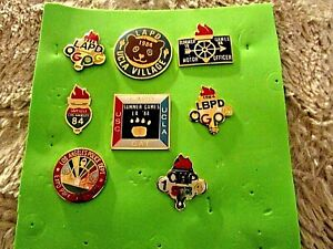 Collection of 1984 LAPD Summer Games Pin