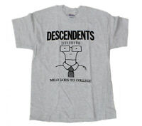 DESCENDENTS T-Shirt Milo Goes To College Gray Tee New Authentic S-2XL