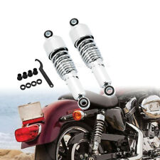 10.5'' Chrome Rear Shock Absorbers Lowering Kit Fit For Harley Sportster XL 883
