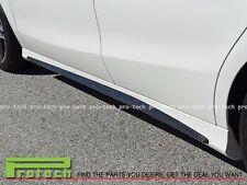 Mercedes BENZ W117 C117 CLA45 AMG Side Skirts Cover Carbon Fiber  2014-2016