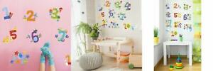 Wallies Vinyl Wall Decals, Counting Numbers Stickers for Kid's...