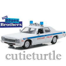 Greenlight 1975 Dodge Monaco Chicago Police The Blues Brothers 1:24 84012 White