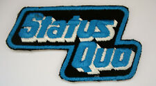 STATUS QUO Aufnäher  Patch Sammlerstück aus den 70ern x