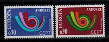"(b4)  timbres d'Andorre Français n° 226/227 neufs** année 1973 ""europa"""
