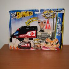 Brand New - WWE RUMBLERS SLAM-BULANCE SLIDEOUT PLAYSET WITH SHEAMUS FIGURE