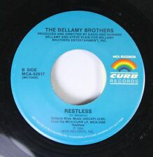 Rock Nm! 45 The Bellamy Brothers - Restless / Too Much Is Not Enough On Curb Rec
