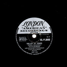 RARE r&b 78 Fats Domino Vallée de larmes/C'EST VOUS I LOVE LONDON HLP 8449 v/v +