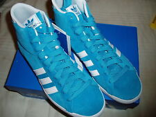 ADIDAS ORIGINALS BASKET PROFI WOMAN BLUE Sz 40-2/3 - US 8,5 SHOES SCARPE SUEDE