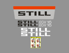Sticker, aufkleber, decal - STILL EGV 16
