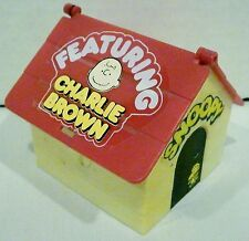 Aviva Toy Peanuts Snoopy Doghouse Featuring Charlie Brown Relaxing in Hammock