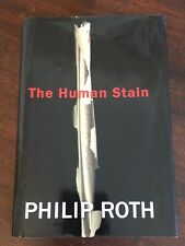The Human Stain FIRST EDITION by Philip Roth HCDJ 1st Printing