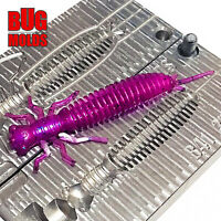Bait  Do It Fishing Molds Soft Plastic Baits Lure Plastisol Bass Larva