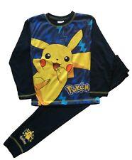 Kids Boys Pokemon Pikachu Pjs Pyjamas Sleepwear Ages 5 to 11 Years