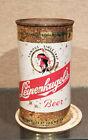 BOTTOM OPEN VANITY LID  1950S LEINENKUGELS FLAT TOP BEER CAN CHIPPEWA FALLS WI