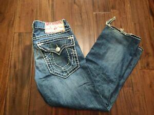 True Religion Billy Super T Jeans Men's 34 Waist 29 Inseam