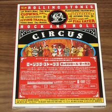 SALE! Sealed PROMO! ROLLING STONES Japan DVD Rock & Roll Circus JETHRO TULL Who