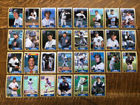 1987 DETROIT TIGERS Topps COMPLETE Baseball Team SET 30 Cards GIBSON TRAMMELL!