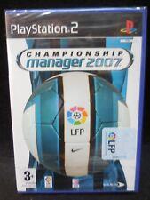Championship Manager 2007 nuevo y precintado para playstation 2