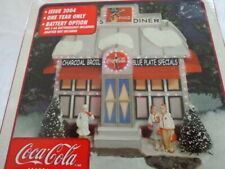 2004 One Year Issue Town Square Collection Coca Cola Diner