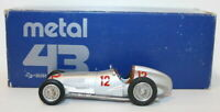 Metal 43 / Plumbies 1/43 Scale PLU70 - 1937 Mercedes Benz W125 #12