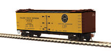 MTH HO Pacific Fruit Express R40-2 Woodside Reefer 8 Piece pack 80-94067